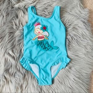 Other - Toddler girl mermaid  swimsuit 🧜‍♀️